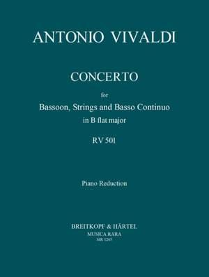 Vivaldi, A: Concerto in B-dur RV 501 (P 401)  RV 501 (P 401) Product Image