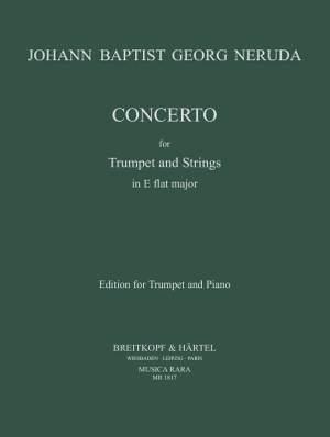 Neruda, J B G: Concerto E flat major