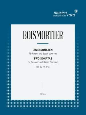 Boismortier, J B d: 2 Sonatas Op. 50/1-2 op. 50/1-2