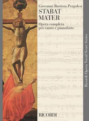 Pergolesi: Stabat Mater (ed. M.Zanon)