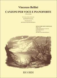 Bellini: Songs for Voice & Piano (high)