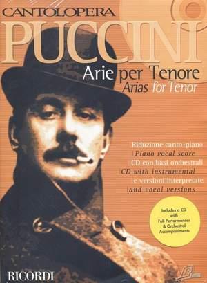 Puccini: Arias for Tenor Vol.1 (Cantolopera)