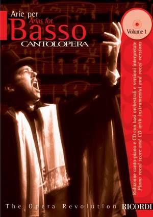 Various: Cantolopera: Arias for Bass + CD