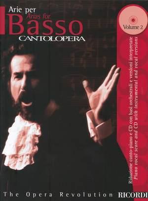 Various: Cantolopera: Arias for Bass - Vol. 2 - Con CD