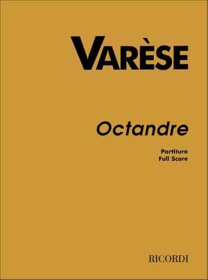 Edgar Varèse: Octandre