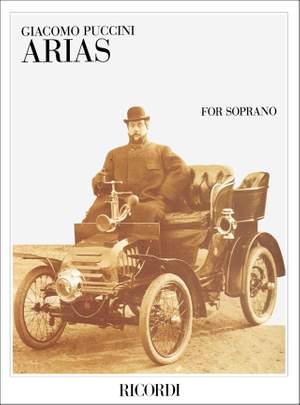 Puccini: Arias for Soprano (Ricordi Milan)