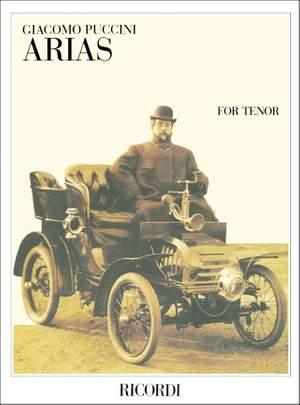 Puccini: Arias for Tenor (Ricordi Milan)