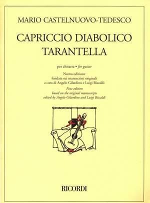 Castelnuovo-Tedesco: Capriccio diabolico Op.85a & Tarantella Op.87a