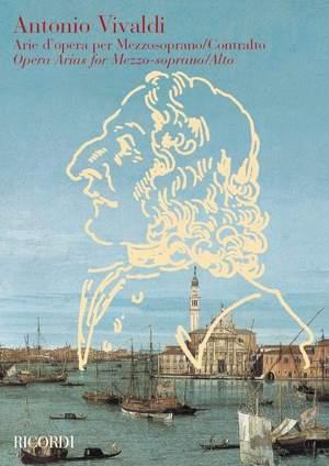 Vivaldi: Arie d'Opera per Mezzo-Soprano/Contralto