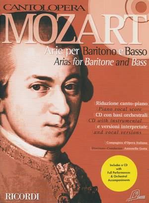 Mozart: Arias for Baritone & Bass (Cantolopera)