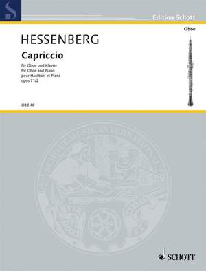 Hessenberg, K: Capriccio op. 71/2