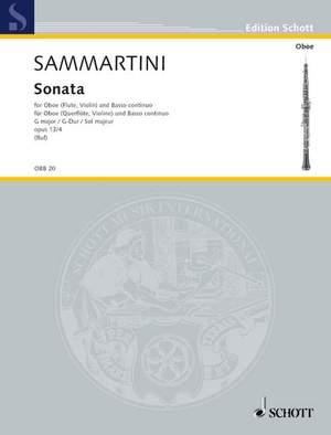 Sammartini, G B: Sonata in G major op. 13/4