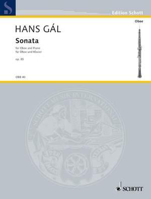 Gál, H: Sonata op. 85
