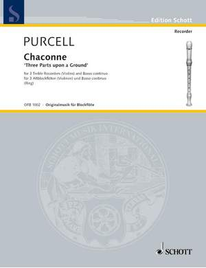 Purcell, H: 3 Parts upon a Ground