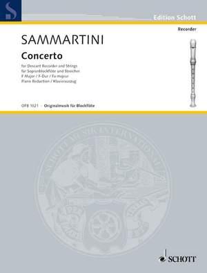 Sammartini, G: Concerto F major