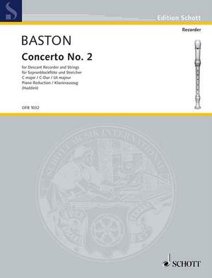 Baston, J: Concerto No. 2 C major