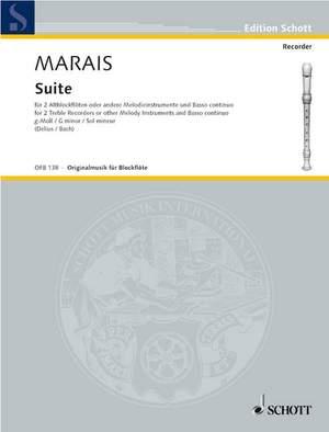 Marais, M: Suite G minor