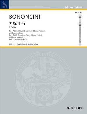 Bononcini, G B: Seven Suites Band 2