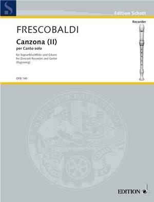 Frescobaldi, G: Canzona (II) Product Image