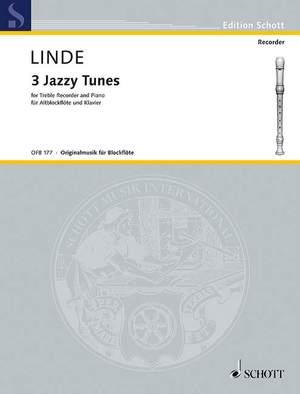 Linde, H: 3 Jazzy Tunes