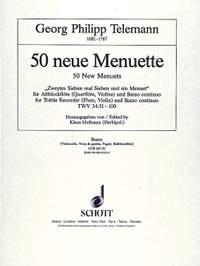 Telemann: 50 new Menuets TWV 34:51-100