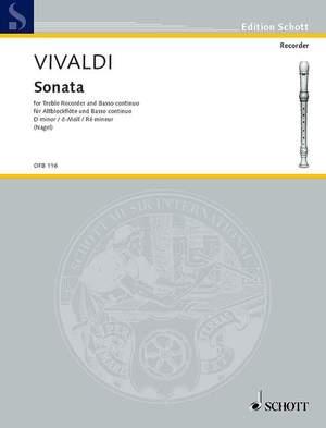 Vivaldi, A: Sonata D minor RV Anh. 69