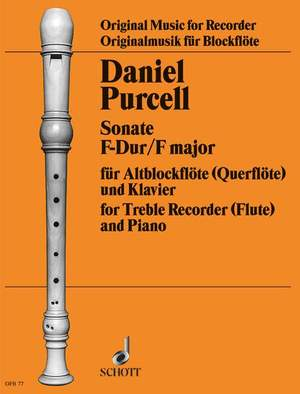 Purcell, D: Sonata F Major