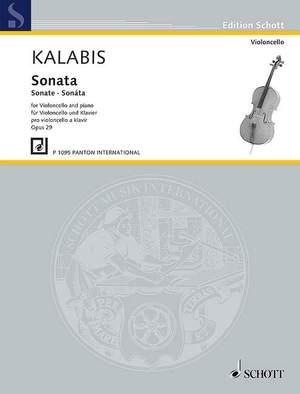Kalabis, V: Sonata op. 29