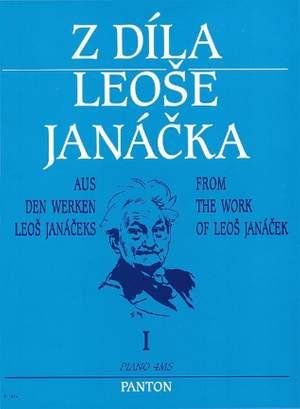Janá?ek, L: From the Work of Leos Janácek I   Band 1 Product Image