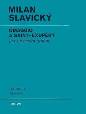 Slavický, K: Omaggio a Saint-Exupery