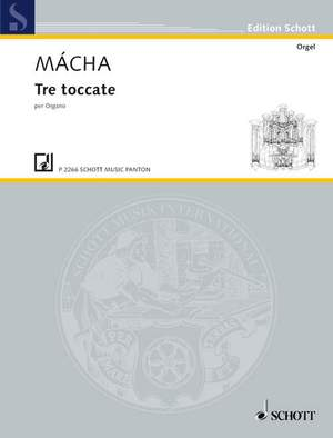 Mácha, O: Three Toccatas