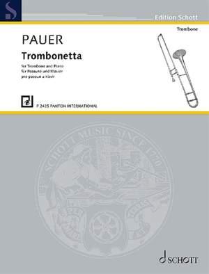 Pauer, J: Trombonetta