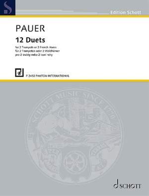 Pauer, J: 12 Duets