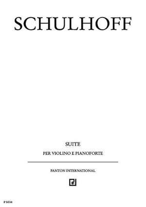 Schulhoff, E: Suite WV 18