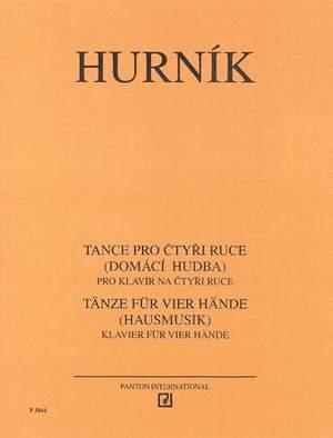 Hurník, I: Dance for four Hands