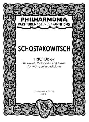 Shostakovich: Trio