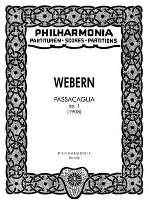Webern, A: Passacaglia op. 1