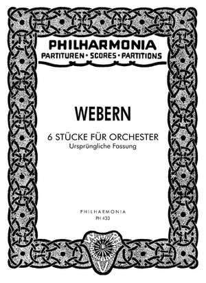 Webern, A: 6 Pieces op. 6