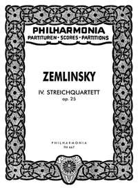Zemlinsky, A: String Quartet No.4 op. 25