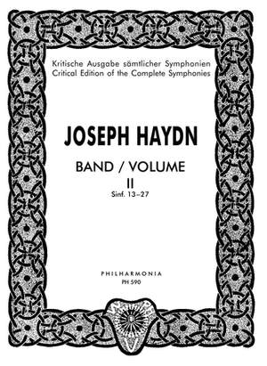 Haydn, J: Symphonies Nos. 13-27 Band 2
