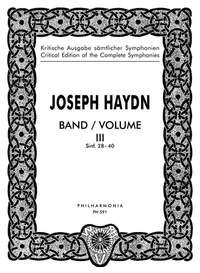 Haydn, J: Symphonies Nos. 28-40 Band 3