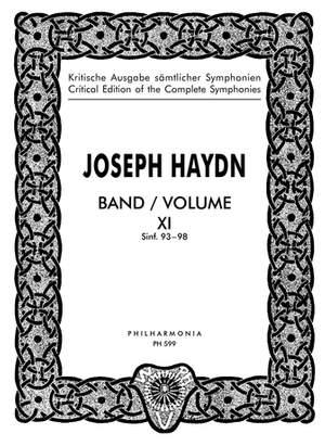 Haydn, J: Symphonies Nos. 93-98 Band 11
