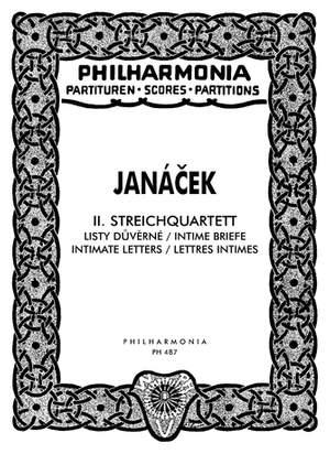 Janácek, L: String Quartet No.2