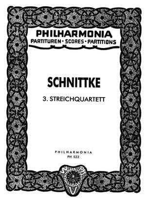 Schnittke, A: String Quartet No.3