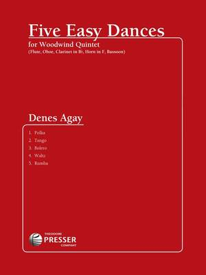 Denes Agay: Five Easy Dances