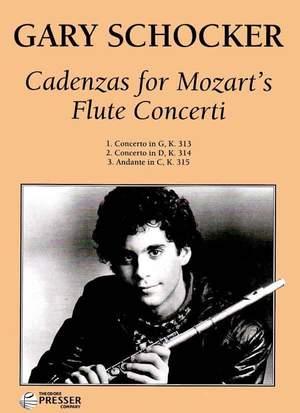 Schocker: Cadenzas for Mozart's Flute Concertos