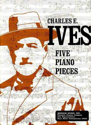 Ives: 5 Piano Pieces Product Image