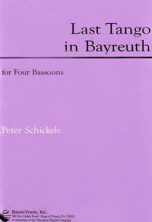 Peter Schickele: Last Tango In Bayreuth