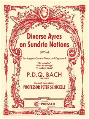 Bach: Diverse Ayres on sundrie Notions