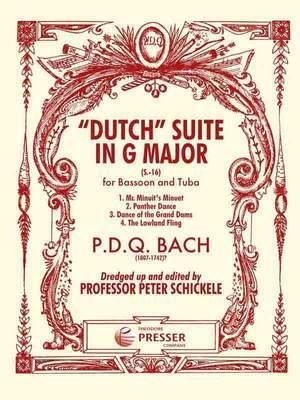 Bach: Dutch Suite in G major